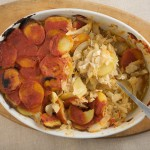 Salt Cod, Onions, and Potatoes